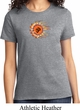Ladies Yoga Shirt Ohm Sun Tee T-Shirt