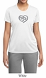 Ladies Yoga Shirt OM Heart Moisture Wicking Tee T-Shirt