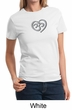 Ladies Yoga Shirt OM Heart Tee T-Shirt