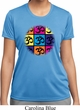 Ladies Yoga Shirt Pop Art Om Moisture Wicking Tee