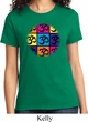Ladies Yoga Shirt Pop Art Om Tee T-Shirt