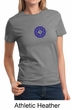 Ladies Yoga Shirt Sahasrara Chakras Tee T-Shirt