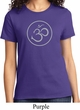 Ladies Yoga Shirt Thin OM Tee T-Shirt