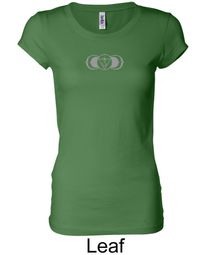 Ladies Yoga T-shirt � AJNA Third Eye Chakra Sign Longer Length Shirt