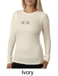 Ladies Yoga T-shirt � AJNA Third Eye Chakra Sign Thermal Shirt