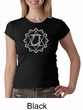 Ladies Yoga T-shirt – Anahata Heart Chakra Crew Neck Shirt