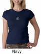 Ladies Yoga T-shirt – Aum Hindu Patch Crew Neck Shirt
