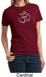Ladies Yoga T-shirt – Aum Symbol Meditation Tee Shirt