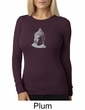 Ladies Yoga T-shirt – Buddha Big Print Thermal Shirt