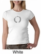 Ladies Yoga T-shirt – Enso Zen Meditation Crew Neck Shirt