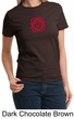 Ladies Yoga T-shirt – Larger Sizes Muladhara Root Chakra Tee Shirt