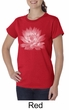Ladies Yoga T-shirt Lotus Flower Organic Shirt
