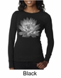 Ladies Yoga T-shirt Lotus Flower Thermal Shirt