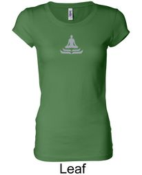 Ladies Yoga T-shirt � Lotus Pose Longer Length Shirt