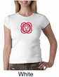 Ladies Yoga T-shirt – Muladhara Root Chakra Crew Neck Shirt