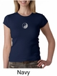 Ladies Yoga T-shirt – Yin Yang Meditation Crew Neck Shirt