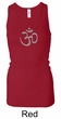 Ladies Yoga Tank – Aum Symbol Longer Length Racerback Tanktop