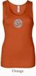 Ladies Yoga Tank – Om Symbol Big Print Meditation Tanktop