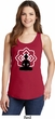 Ladies Yoga Tank Top Buddha Lotus Pose Tanktop