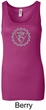 Ladies Yoga Tank Top Vishuddha Chakra Longer Length Tanktop