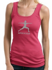 Ladies Yoga Tank – Warrior 2 Pose Meditation Tanktop