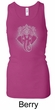 Ladies Yoga Tanktop Iconic Ganesha Longer Length Racerback Tank Top