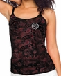 Ladies Yoga Tanktop OM Heart Pocket Print Tie Dye Camisole Tank Top