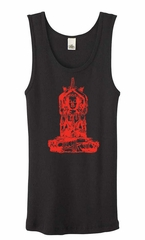Ladies Yoga Tanktop Red Tara Organic Tank Top