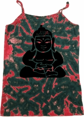 Ladies Yoga Tanktop Shadow Buddha Tie Dye Camisole Tank Top