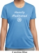 Ladies Yoga Tee Heavily Meditated with OM Moisture Wicking T-shirt