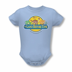 Land Before Time Baby Dino Breakout Light Blue Infant Babies Creeper