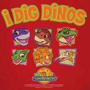 Land Before Time I Dig Dinos Shirts