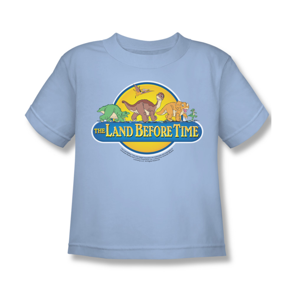 Land Before Time Toddler Dino Breakout T-Shirt In Light Blue