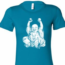 Laughing Buddha Ladies Yoga Shirts