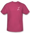 Laverne and Shirley Shirt Lavernes L Hot Pink T-Shirt