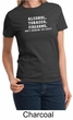 Law Enforcement Shirt Alcohol Tobacco Firearms ATF Ladies T-shirt