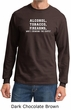 Law Enforcement Shirt Alcohol Tobacco Firearms ATF Long Sleeve Shirt