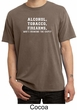 Law Enforcement Shirt Alcohol Tobacco Firearms ATF Pigment Dyed Shirt