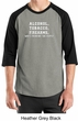 Law Enforcement Shirt Alcohol Tobacco Firearms ATF Raglan Shirt
