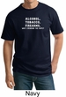 Law Enforcement Shirt Alcohol Tobacco Firearms ATF Tall T-shirt