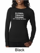 Law Enforcement Shirt Alcohol Tobacco Firearms Ladies Thermal Shirt