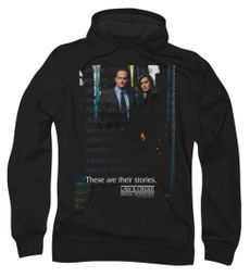 Law & Order: SVU Hoodie Sweatshirt SVU Black Adult Hoody Sweat Shirt