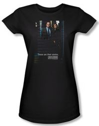 Law & Order: SVU Shirt Juniors SVU Black Tee T-Shirt