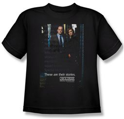 Law & Order: SVU Shirt Kids SVU Black Youth Tee T-Shirt