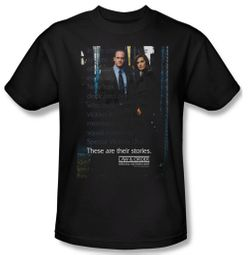 Law & Order: SVU Shirt SVU Adult Black Tee T-Shirt
