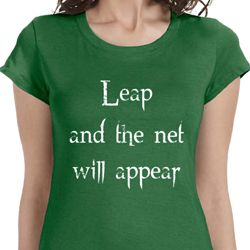 Leap Ladies Yoga Shirts