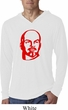 Lenin Profile Lightweight Hoodie Shirt, White