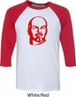 Lenin Profile Mens Raglan Shirt