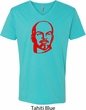 Lenin Profile Mens V-Neck Shirt