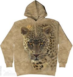 Leopard Hoodie Tie Dye Adult Hooded Sweat Shirt Hoody